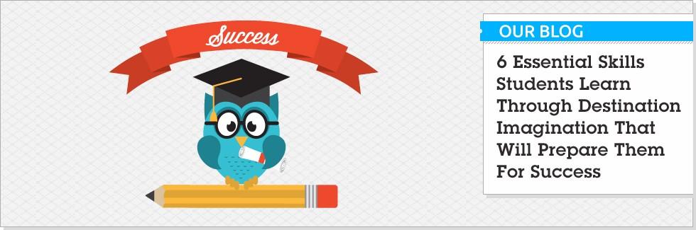 Destination Imagination Academic Success Banner